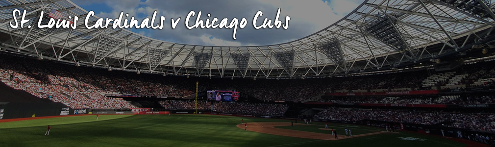 St Louis Cardinals v Chicago Cubs VIP Tickets   MLB London 2020