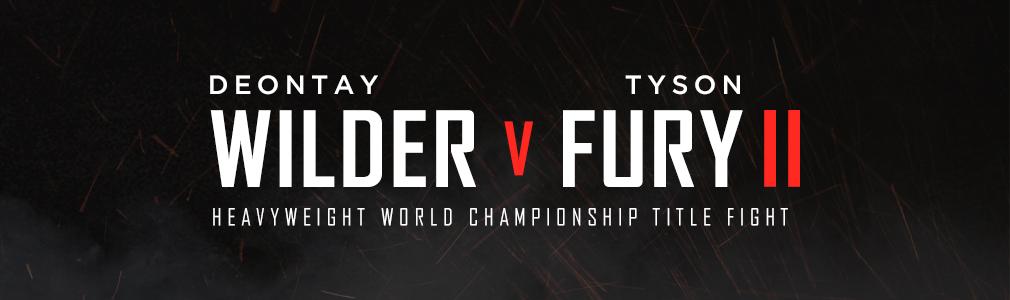 Fury v Wilder VIP tickets