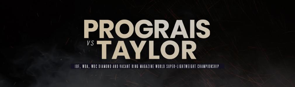 Prograis v Taylor VIP Tickets