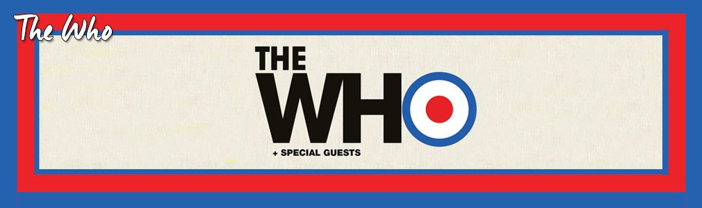 The Who VIP Tickets