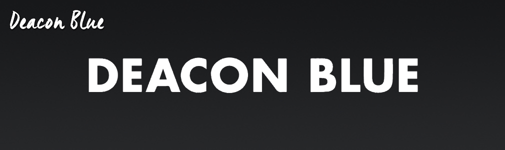 Deacon Blue VIP tickets