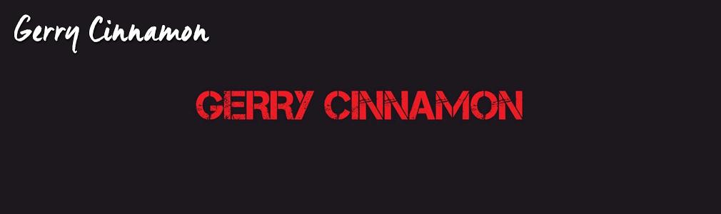 Gerry Cinnamon VIP Tickets