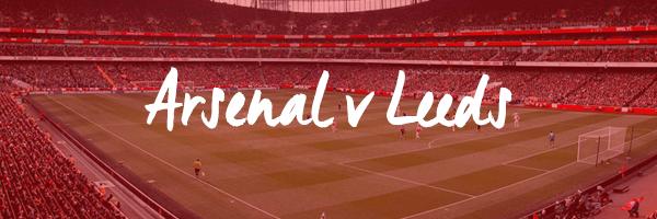 Arsenal v Leeds Hospitality