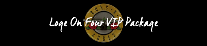 Guns N Roses Tottenham VIP tickets