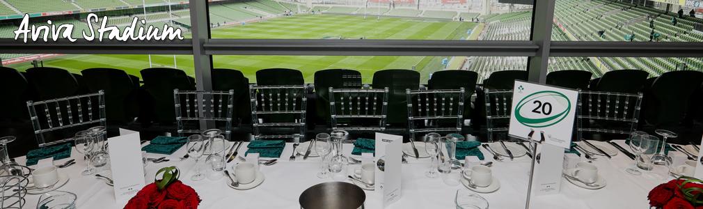 aviva stadium hospitality