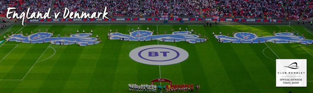 England v Denmark vip tickets