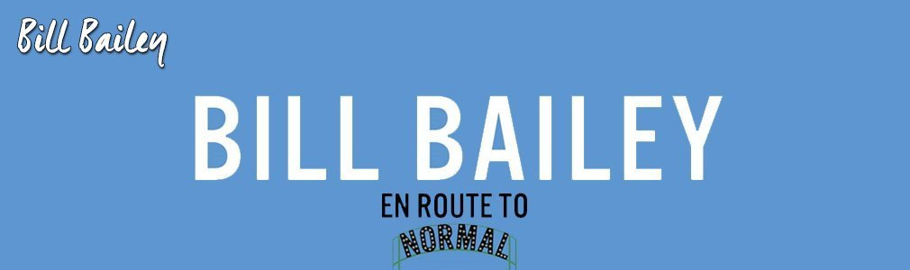 Bill Bailey VIP Tickets
