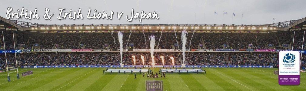 lions v japan hospitality