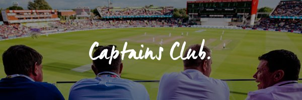 Old Trafford Captains Club Hospitality