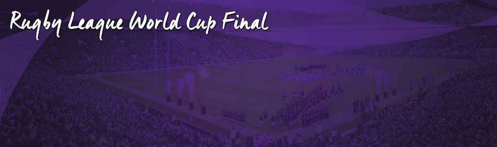 rugby league world cup final vip tickets