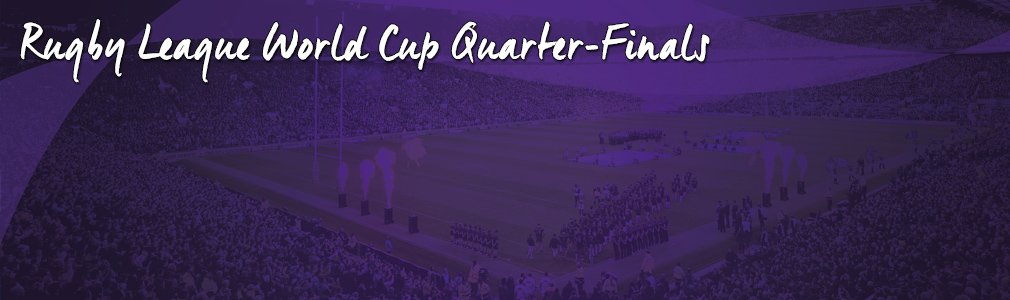 rugby league world cup quarter final vip tickets